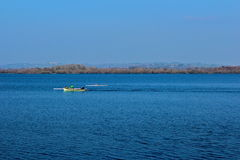 Rowing Killarney Стоковое Изображение
