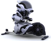 Rowing machine Royalty Free Stock Images