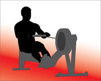 Rowing Machine Vector Stock Images