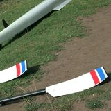 Oars on a meadow in Melbourne. Rowing in Melbourne, Victoria state Royalty Free Stock Photos