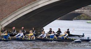 rowing mendota 53 младших hotc девушок eights Стоковые Изображения RF
