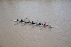 Rowing on the Oklahoma River Stock Image