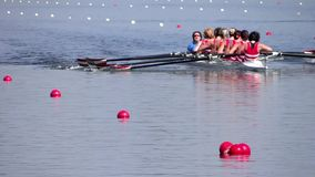 A rowing race
