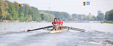 Rowing Regatta Royalty Free Stock Photos