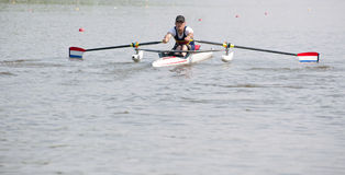Rowing stroke Royalty Free Stock Photography