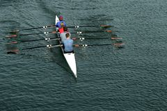 Free Rowing Team Stock Photography - 2414482