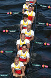 Rowing Team Stock Photo
