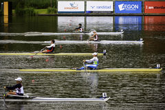 Rowing world championships Stock Photos