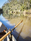 Rowing Yarra River Melbourne Stock Photo