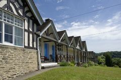 Rowland Hill Almshouses Image stock