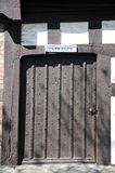 Rowleys House door, Shrewsbury. Royalty Free Stock Image