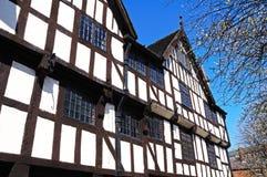 Rowleys hus, Shrewsbury Arkivfoto