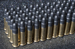 Rows of ammunition Stock Images