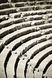 Rows of ancient amphitheater royalty free stock images