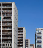 Rows of Apartments Royalty Free Stock Photo
