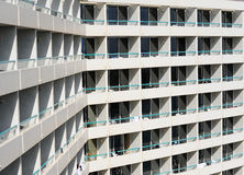 Rows of Balconies Royalty Free Stock Photography