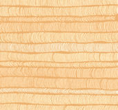Rows of beige hand drawn vertical folds Stock Photos