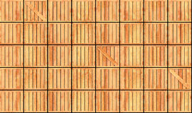 Rows of boxes texture Stock Image