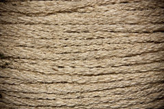 Rows of braided twine Stock Photo