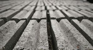 Rows of brick Royalty Free Stock Photography