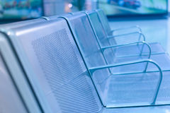 Rows of chair Stock Image