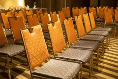 Rows of Chairs Stock Images