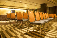 Rows of Chairs Stock Photography