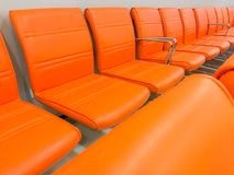 Rows of chairs Royalty Free Stock Image