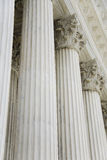 The rows of classical columns Royalty Free Stock Images