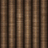 Rows of coins money stock illustration