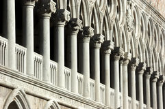 Rows of columns Royalty Free Stock Image