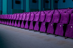 Rows of comfortable seats. In cinema Stock Photography