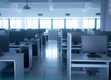 Rows of computer Royalty Free Stock Photography