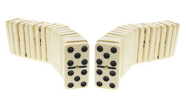 Rows of Dominoes Stock Images