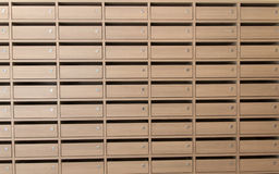 Rows of drawer Stock Photo