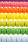 Rows of element abacus Stock Images