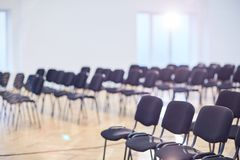 Empty conference hall Royalty Free Stock Photography