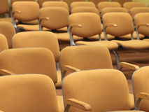 Rows of empty seats texture Royalty Free Stock Image