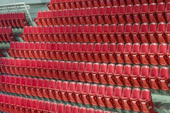 Rows of empty seats Royalty Free Stock Photo