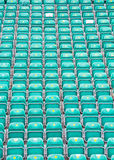 Rows of Folded Seats Royalty Free Stock Images