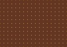 Golden circles pattern on brown background Stock Photography