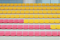 Rows Of Grandstand Seats Royalty Free Stock Photography
