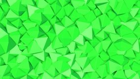 Rows of green pyramids slowly moving. abstract. 3d rendering. Rows of green pyramids slowly moving. abstract animation. 3d rendering stock video footage