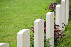 Rows of headstone Royalty Free Stock Photography
