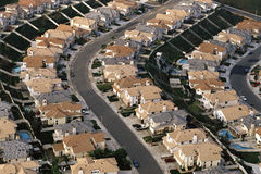 Rows of houses Royalty Free Stock Photography