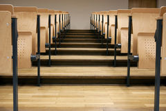 Rows in a lecture room. Seats in a lecture room Stock Photography