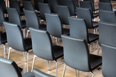 Rows of new  chairs Stock Photography