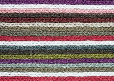 Rows Of Knitting Royalty Free Stock Images