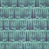Rows Of Open Cardboard Packs Of Drug Vials Stock Photos