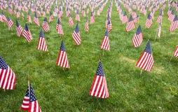 Rows of Patriotism Royalty Free Stock Image
